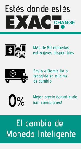 Exact Change - Cambio de Moneda Extranjera