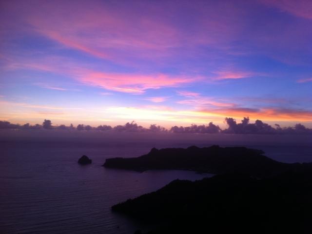 Puesta de Sol - Isla Chichi Jima