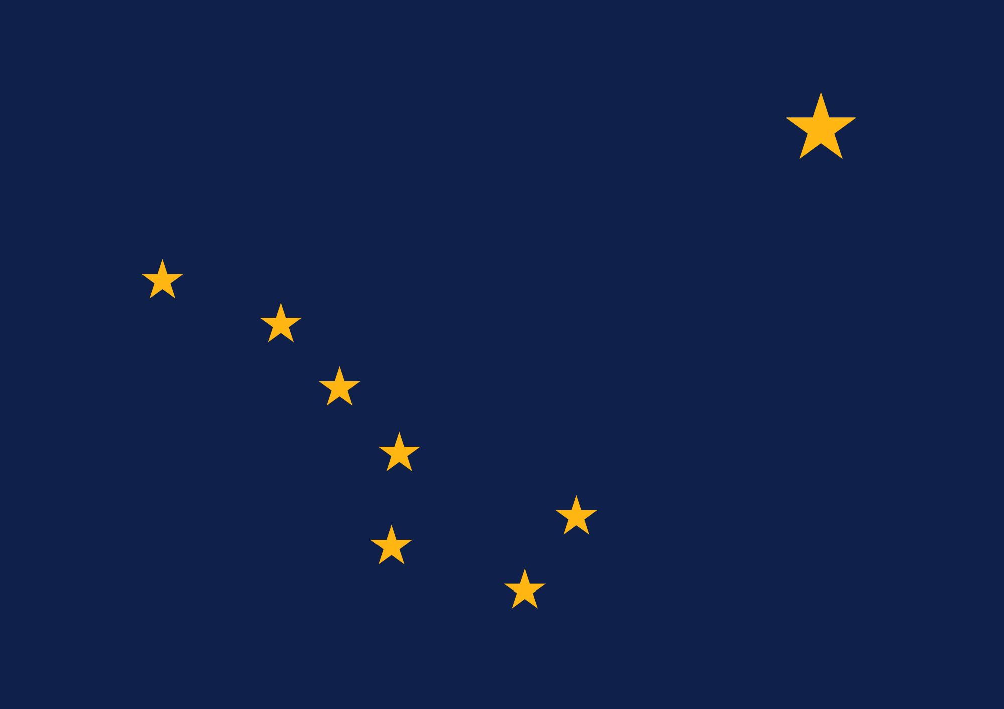 Bandera Alaska (US)