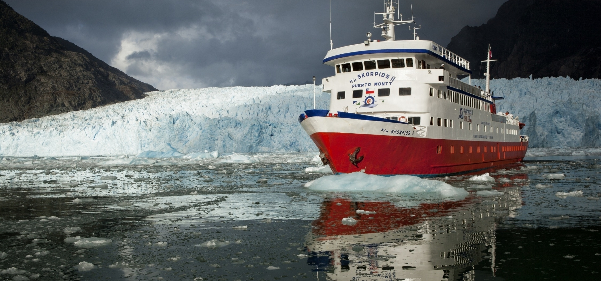 Crucero Skorpios - Ruta Chonos Glaciares en Patagonia