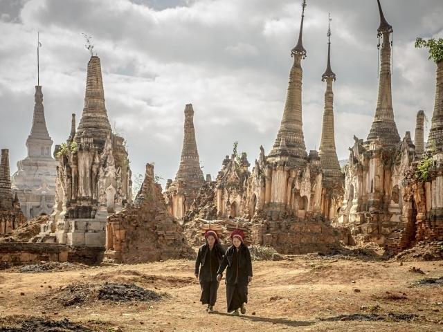 Indein - Pagoda Shwe Indein