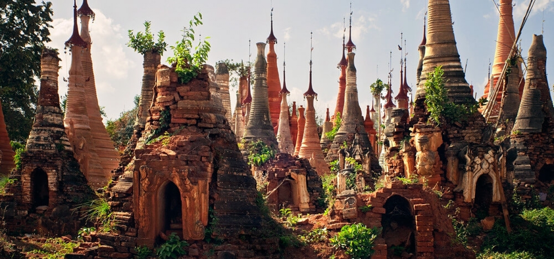 Myanmar - Pagodas y Tesoros de Birmania + In Dein
