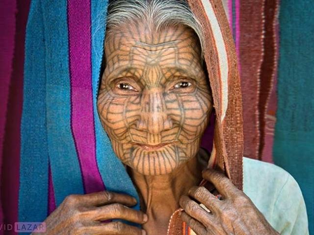 Mujer de la Tribu Chin