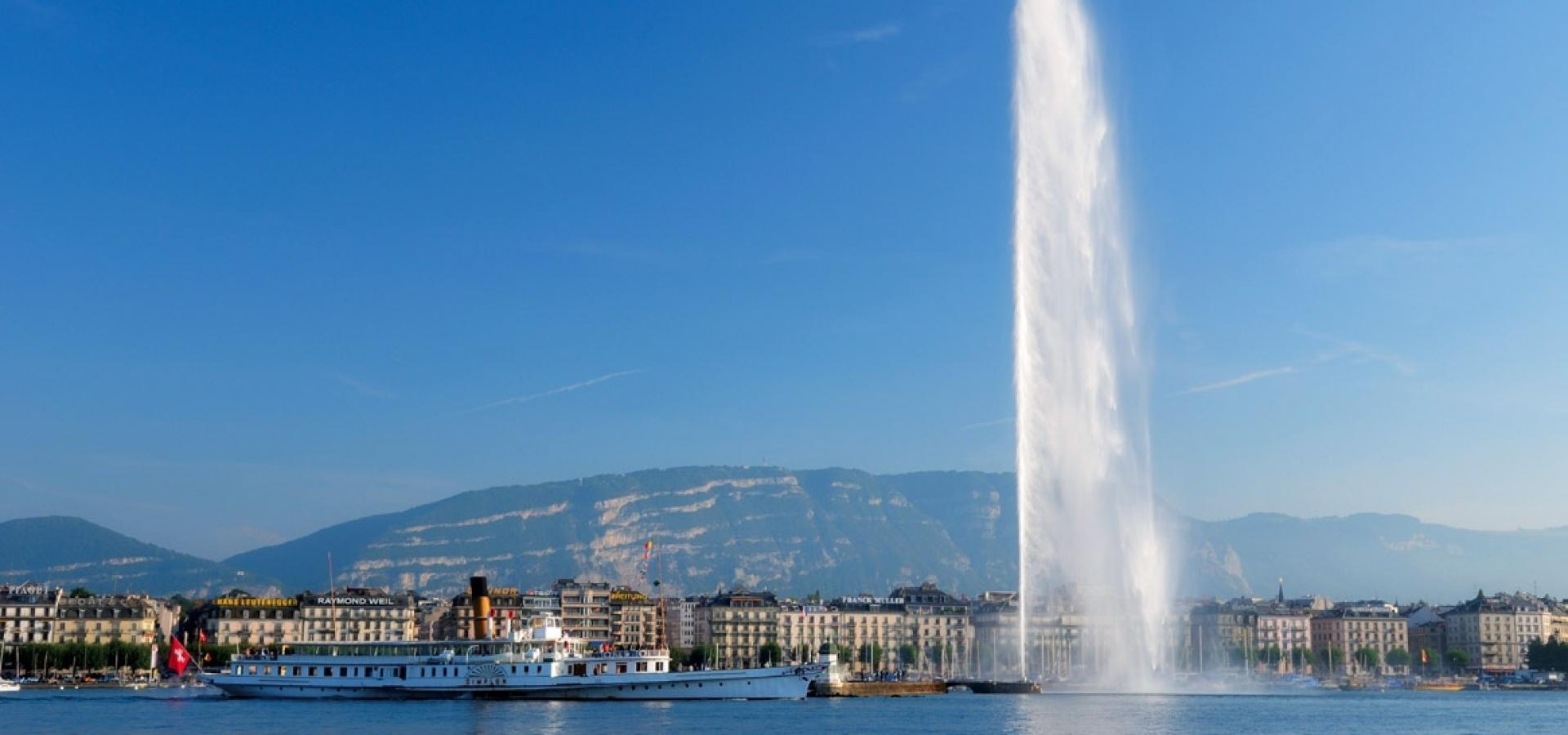 Suiza - Escapada a Ginebra + Lago Lemán