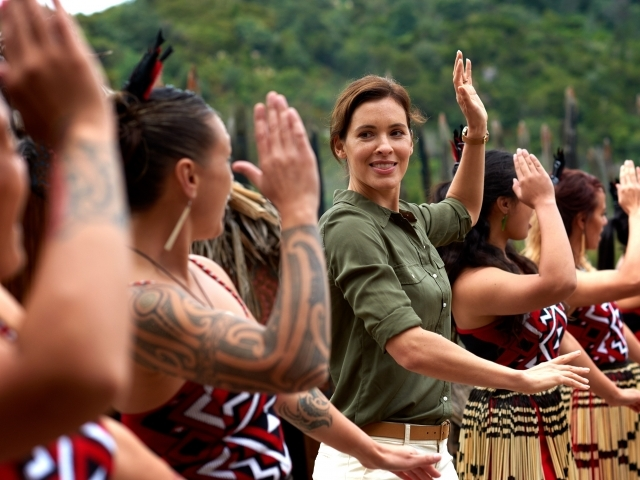 Te Puia - Baile tradicional