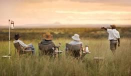 Safari-Vintage: Jambo en 4x4 y Avioneta