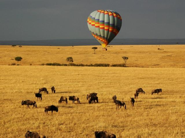 Safari en Globo en Reserva Masai Mara