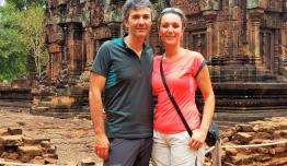 Isabel LEON & Javier ECHEBARRIA (Malaga) - Camboya