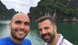 Eduardo QUEIPO DE LLANO & Fidel HIJANO (Malaga) - Vietnam
