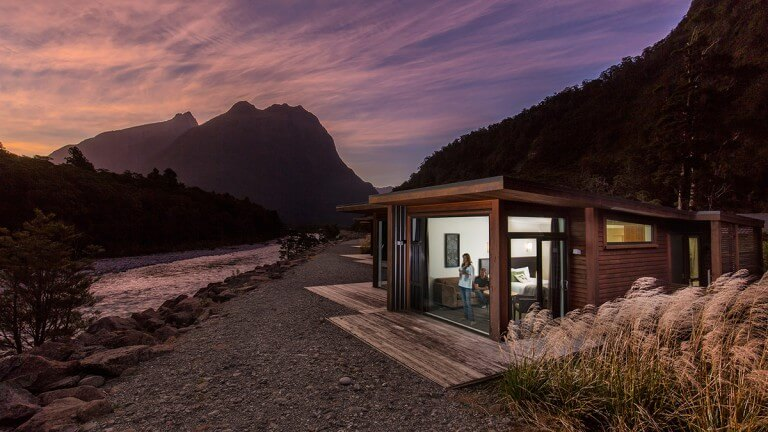 Lodge Milford Sound