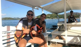 Altea DOMINGUEZ & Paco BUENO (Málaga) - Filipinas