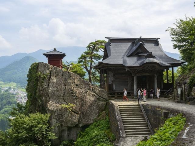 Templo Risshakuji (Yamadera)