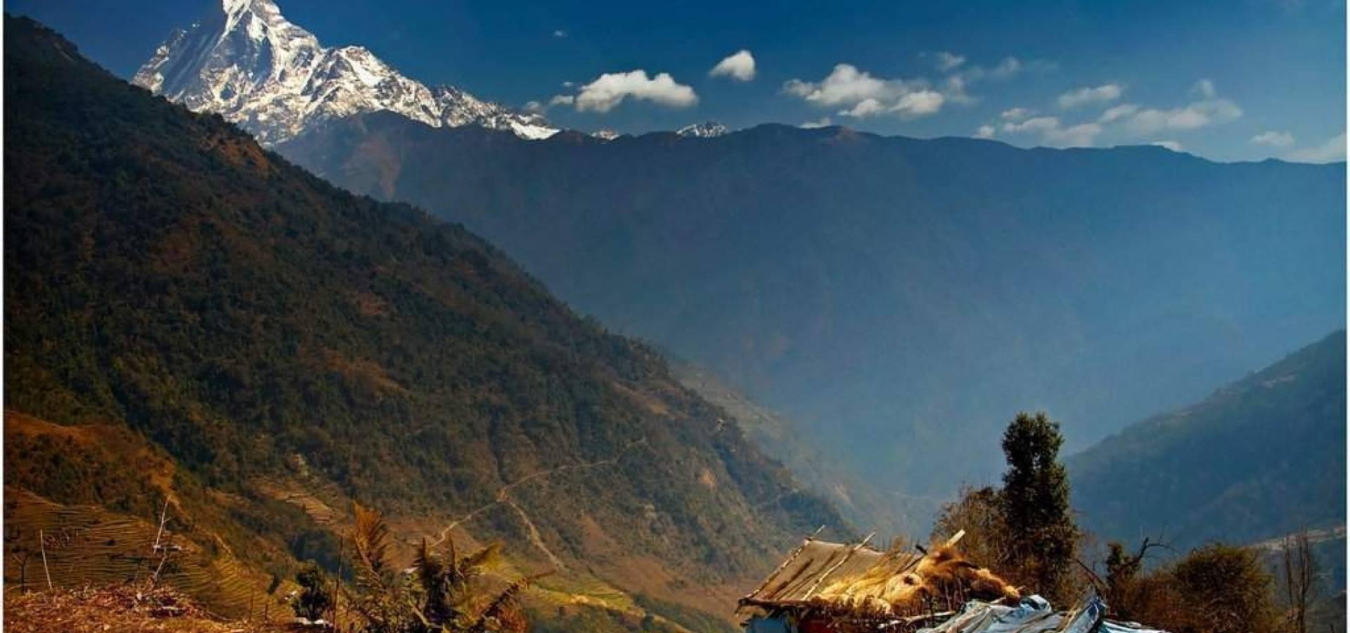 Nepal - Trekking Area Annapurna + Parque Chitwan