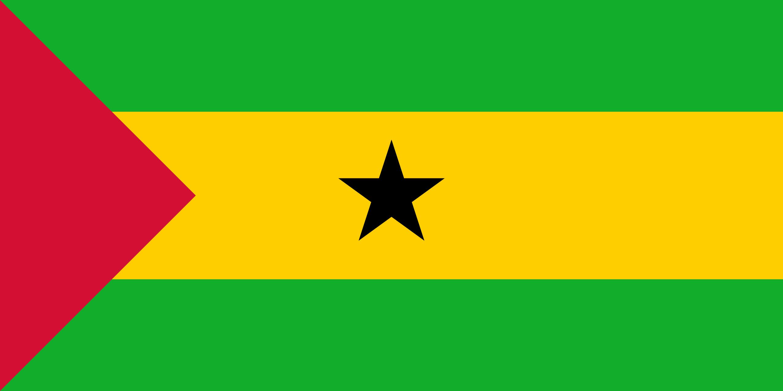Bandera Santo Tomé y Príncipe