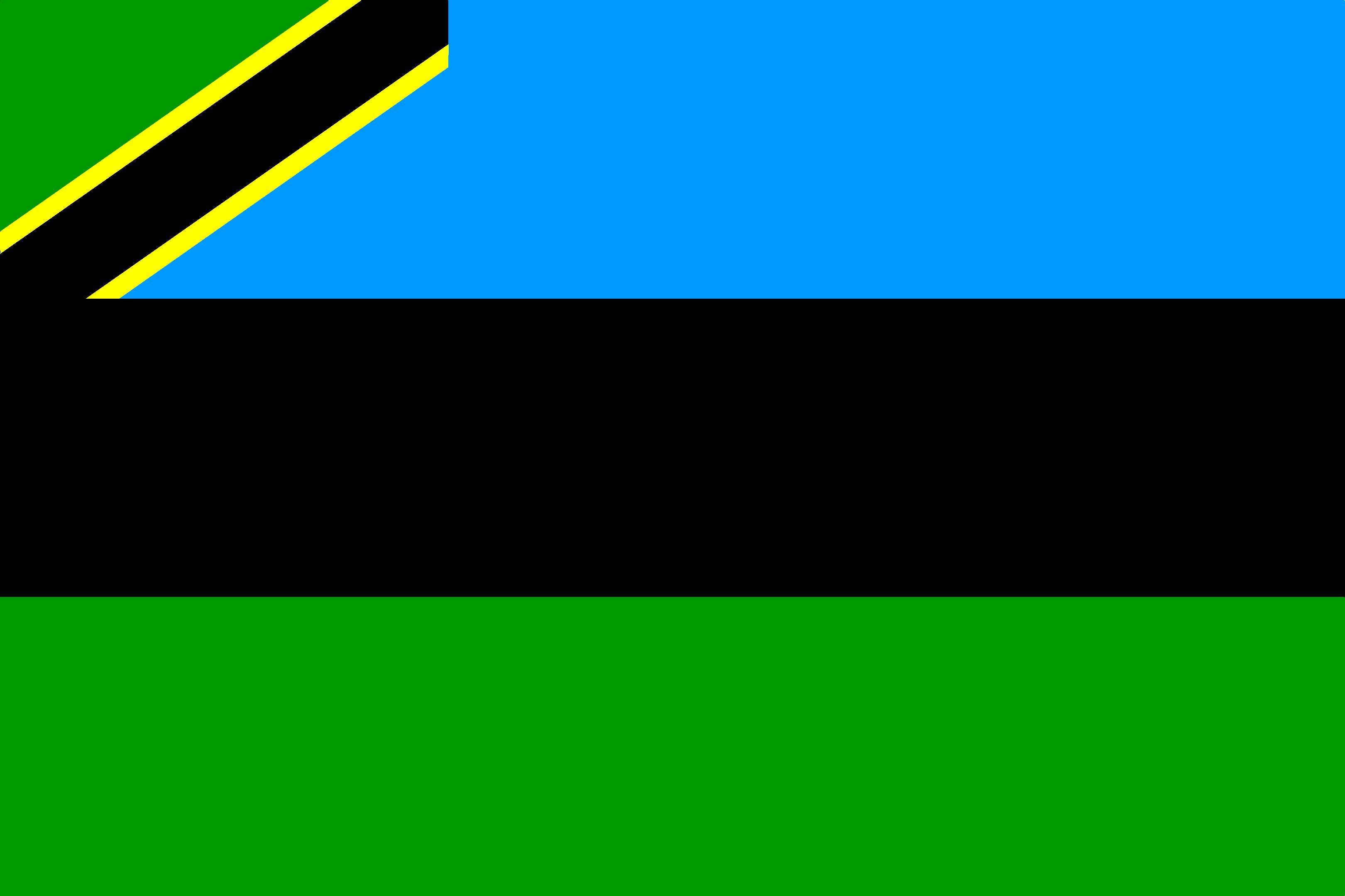 Bandera Zanzíbar (TZ)