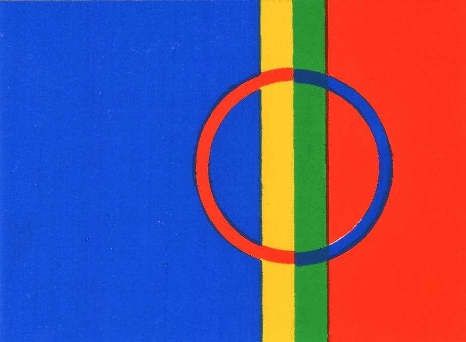 Bandera Laponia Noruega (NOR)