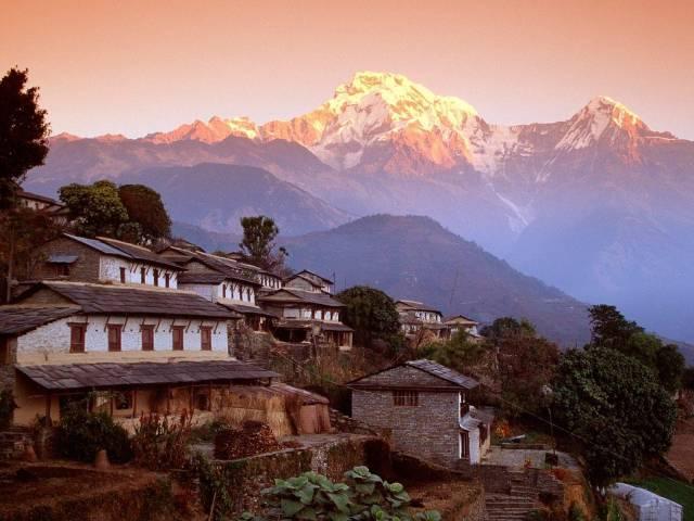 Frente al Annapurna