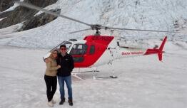 Helicóptero Glaciar - Marina DELANGE & Manuel TORRES - Nueva Zelanda
