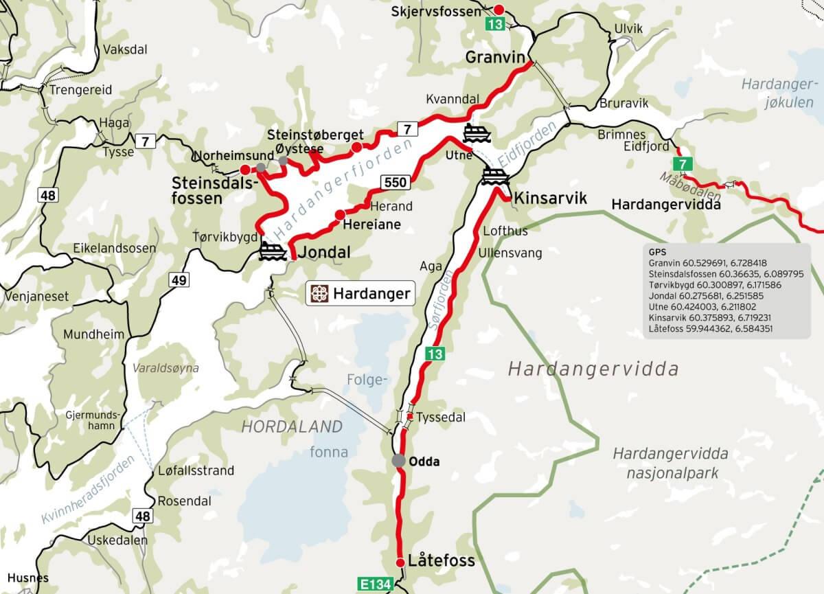 Ruta Panorámica Hardanger