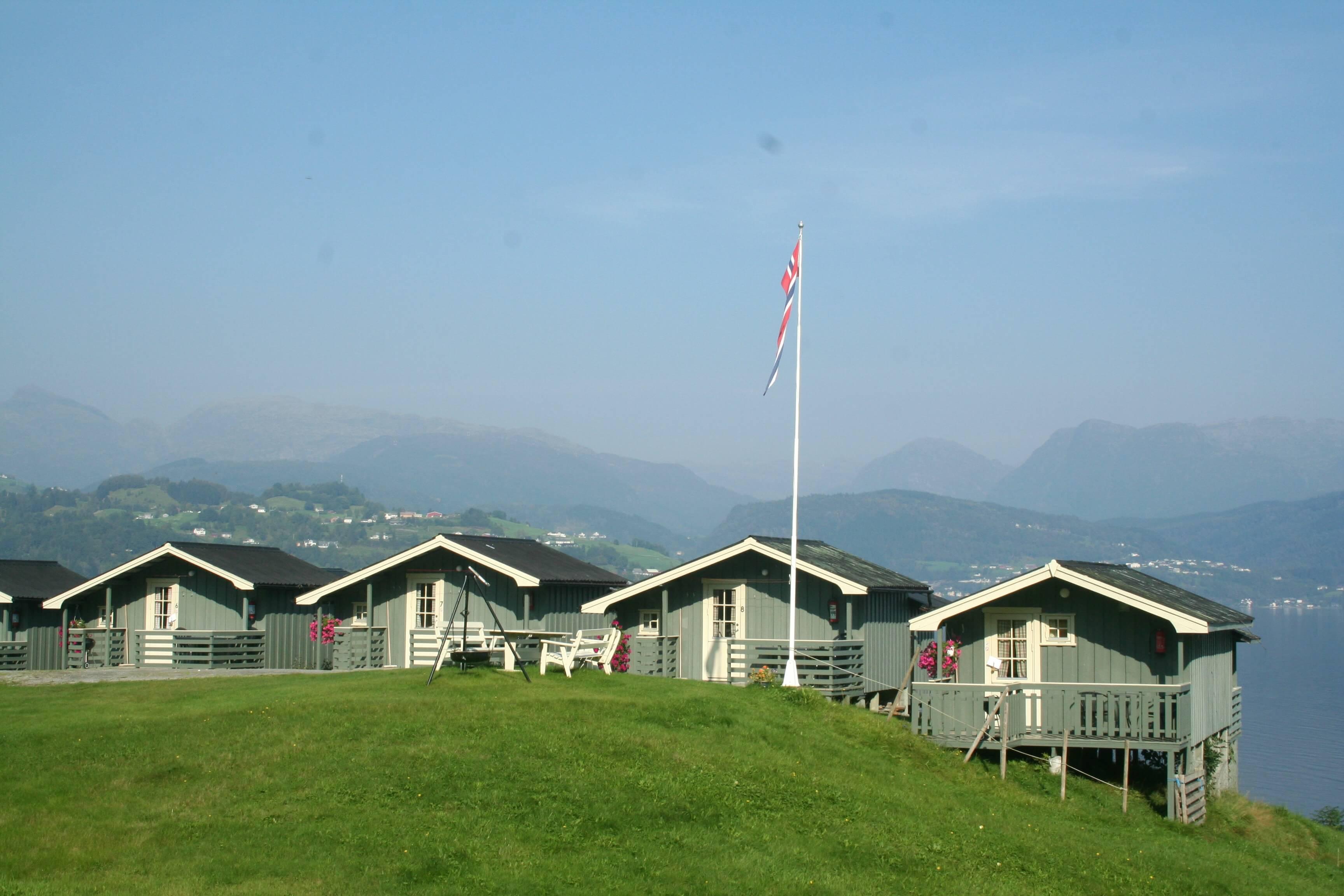 Cabañas Oddland Camping