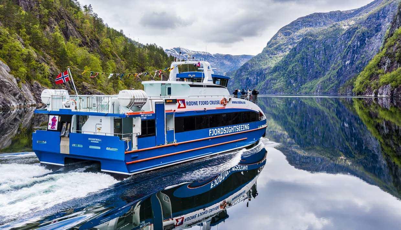 Mini-crucero por el Fiordo Lyse