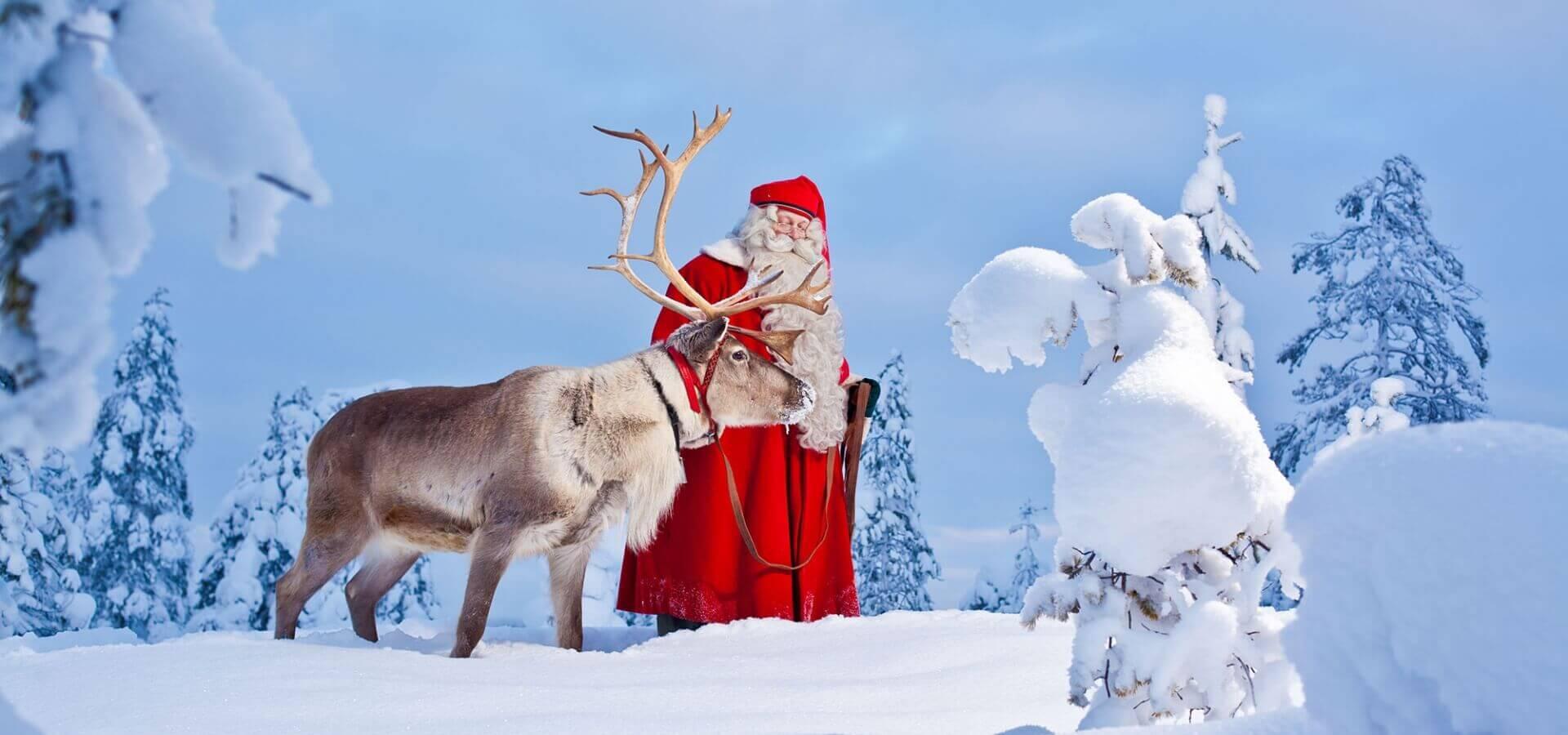 Finlandia - Rovaniemi la Aldea de Papá Noel Santa Claus en Laponia