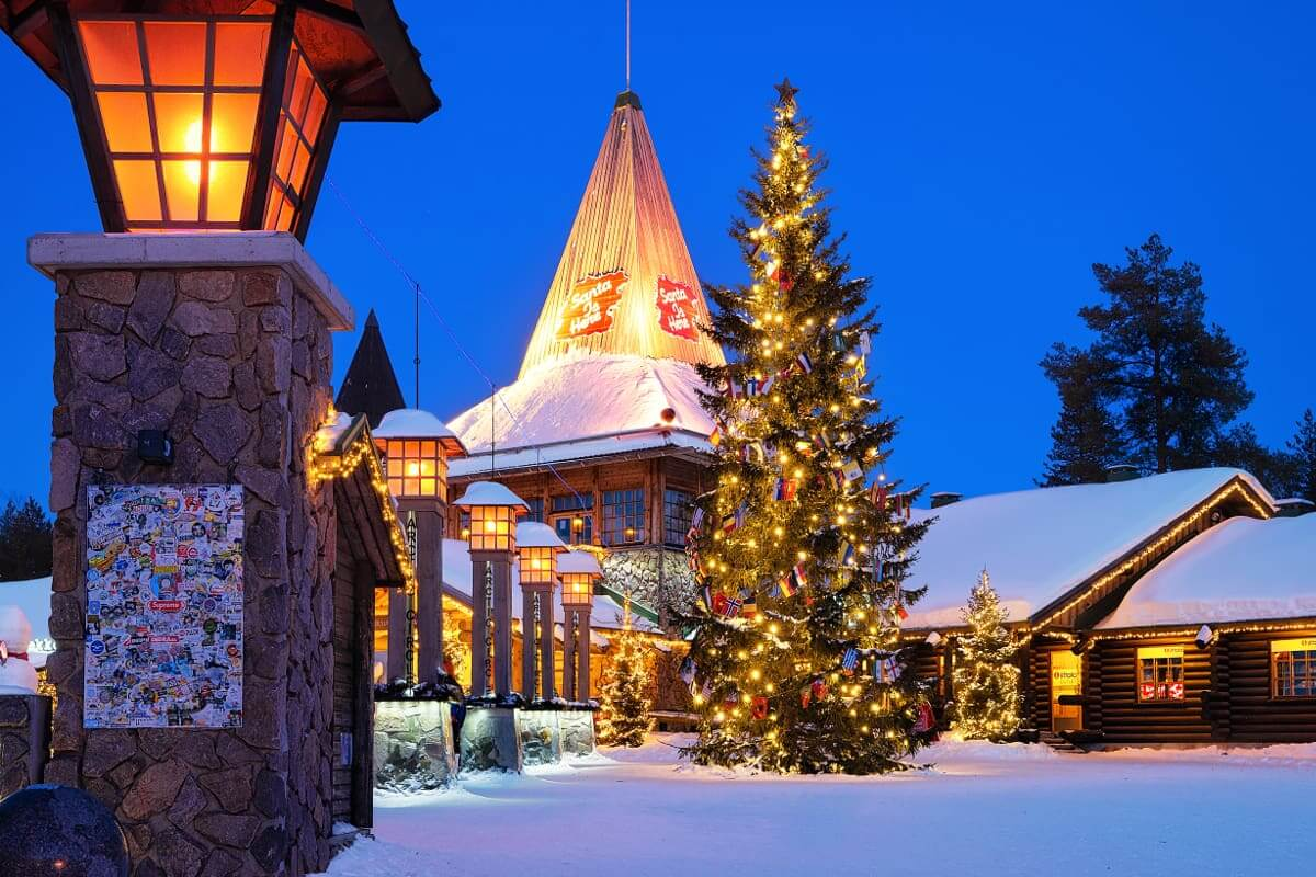 Aldea de Santa Claus - Papá Noel