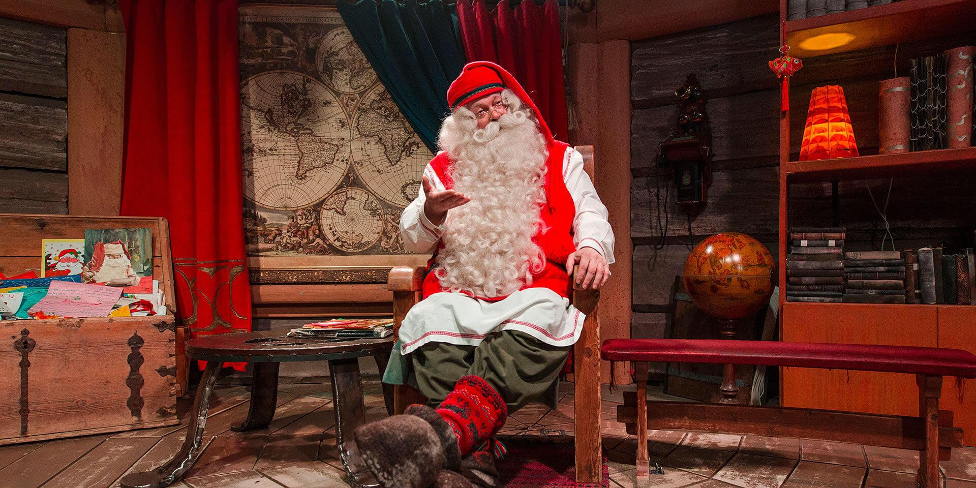 Hogar secreto de Papá Noel - Korvatunturi