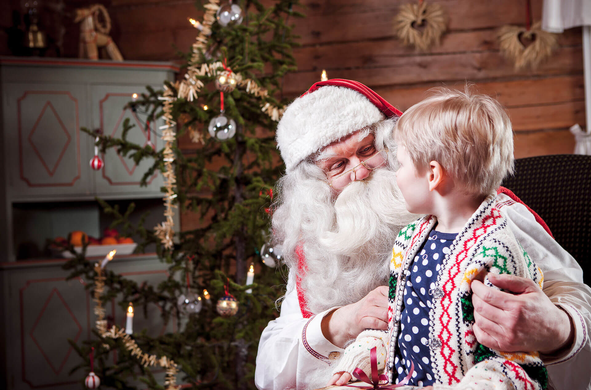 Visita a Papá Noel Santa Claus