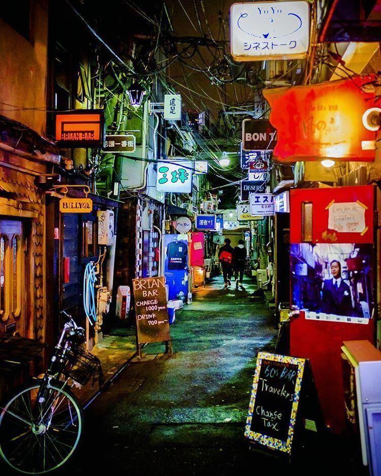 Golden Gai - Barrio Shinjuku