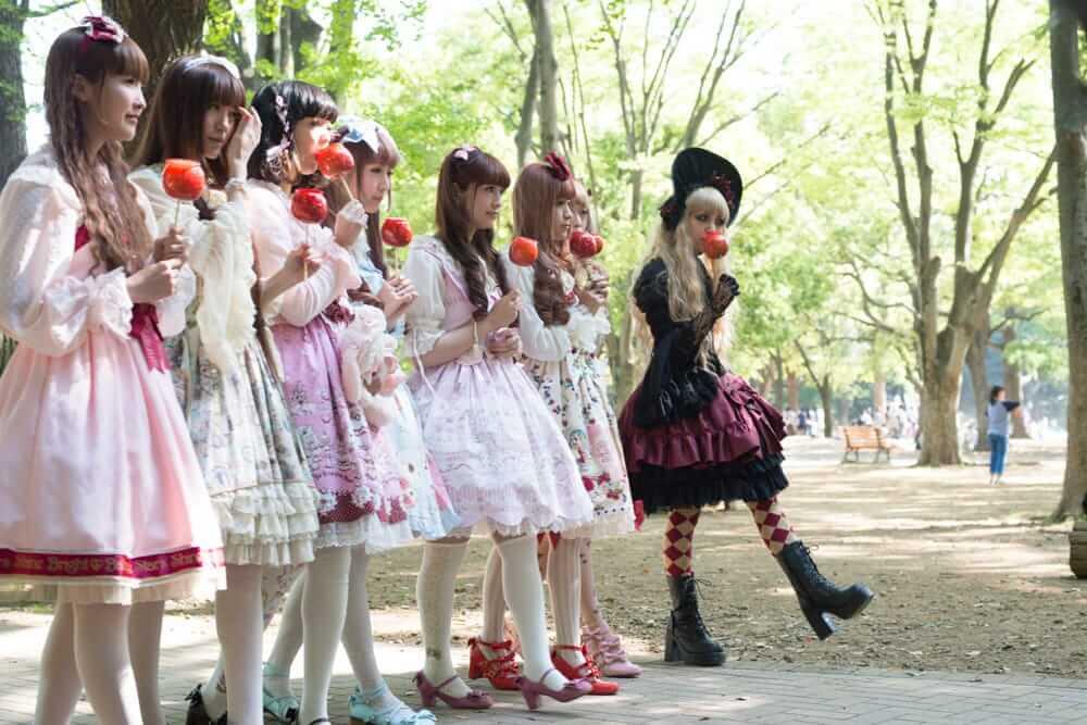 Lolitas en Parque Yoyogi