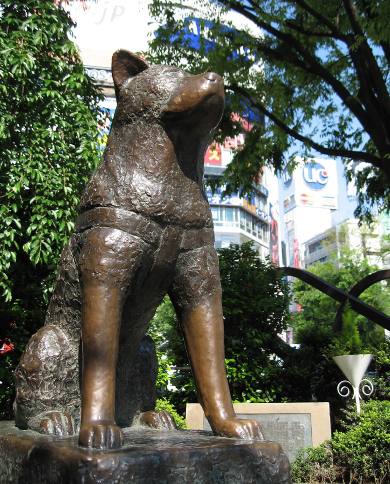 Estatua Perro Hachiko
