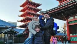 Rocio GALAN PEREZ & Familia en Japón - Japón
