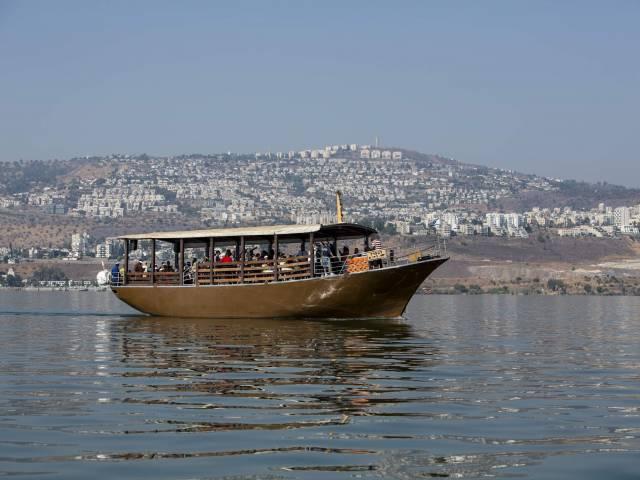 Barco de peregrinos - Mar de Galilea