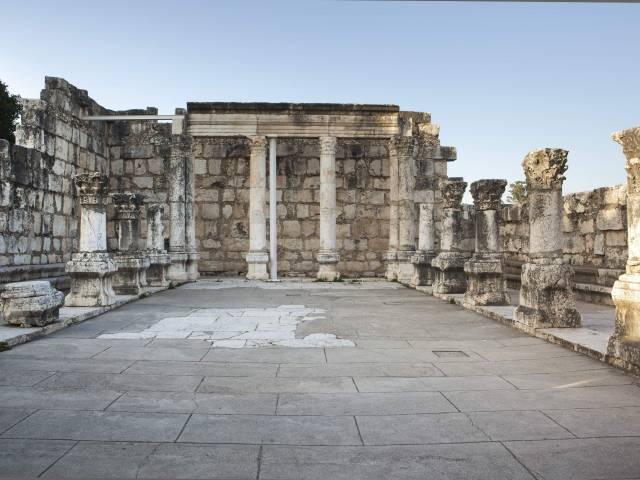 Antigua sinagoga de Cafarnaúm