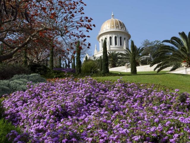 Templo de Bahai  - Laderas Monte Carmelo