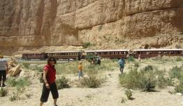 Tren El Lagarto Rojo - Túnez