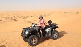 Quad en el Desierto - Túnez