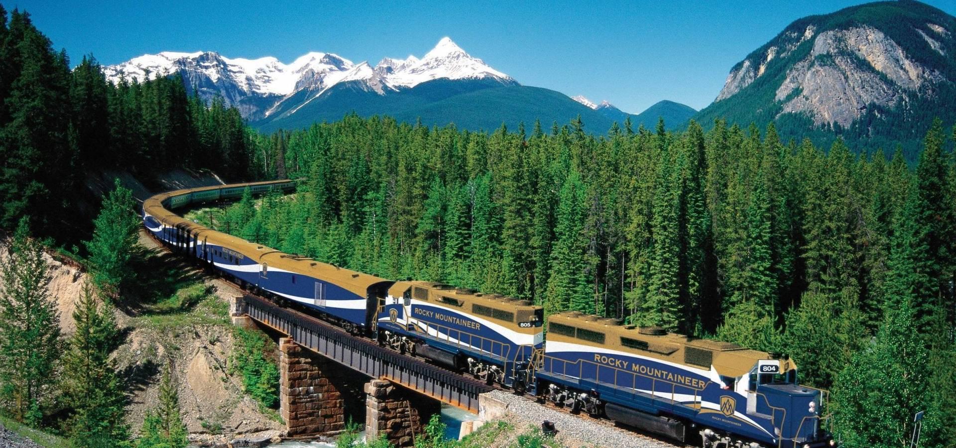Canada Oeste - Clasico Rocosas + Tren Rocky Mountaineer