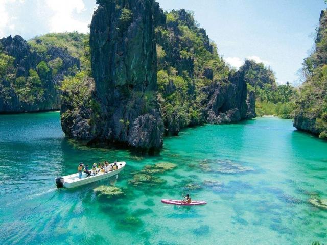 Isla de Coron - Lago Kayangan