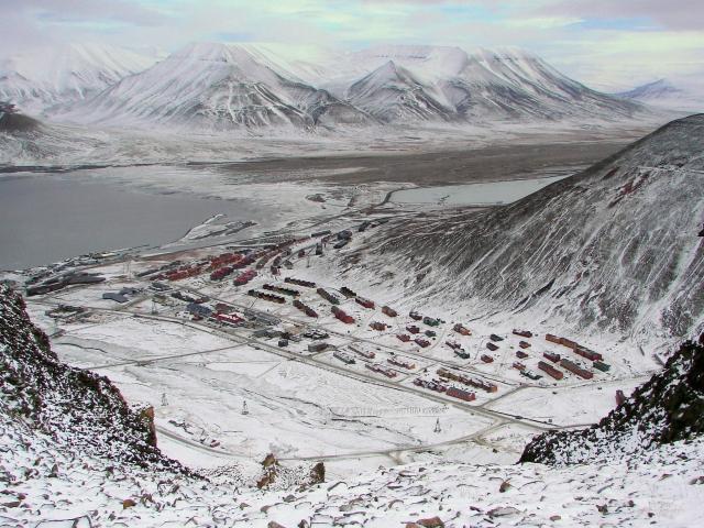 Longyearbyen - Vista Ciudad