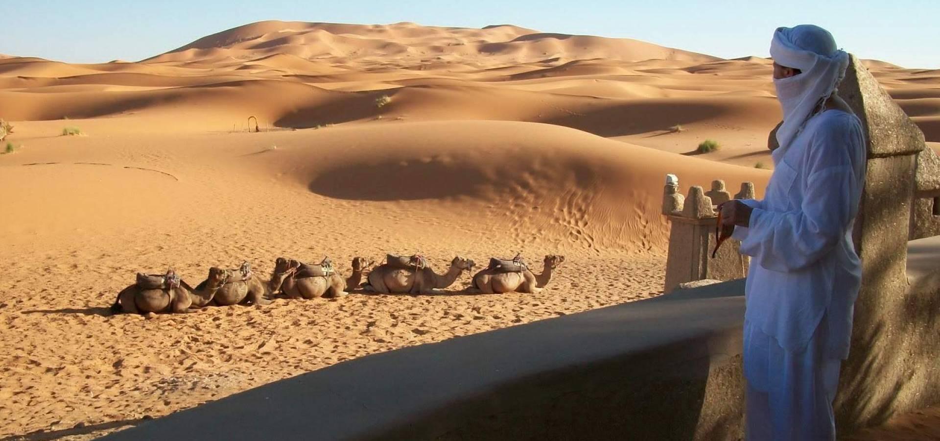 Desierto de Merzouga..
