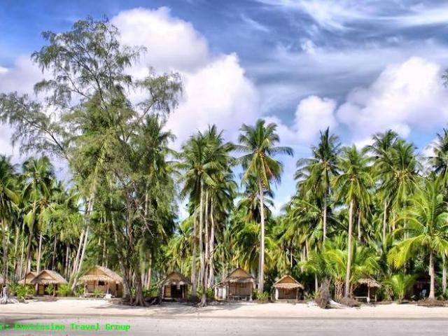 Playa y Chozas en Koh Chang