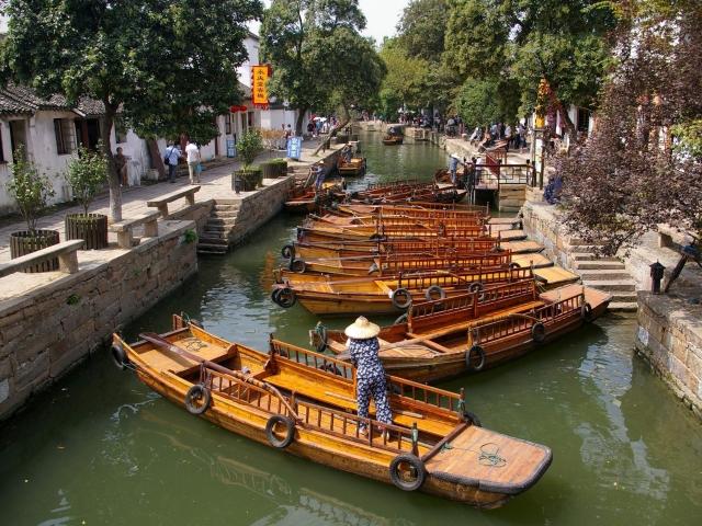 Barcas del canal