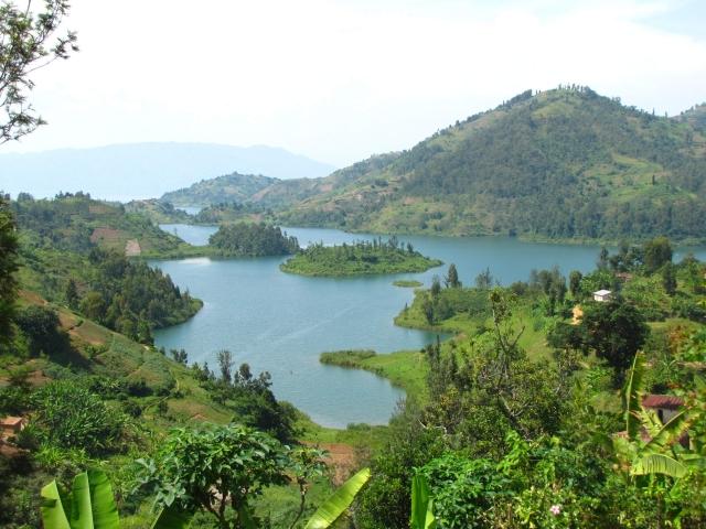 Paisaje Lago kivu
