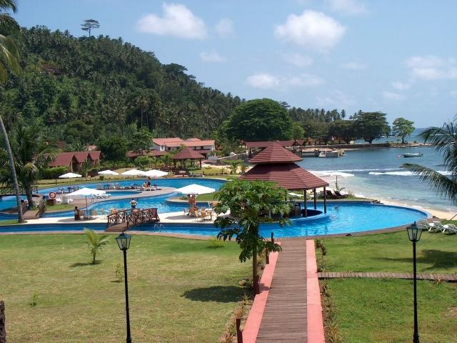 Resort en isla de rolas