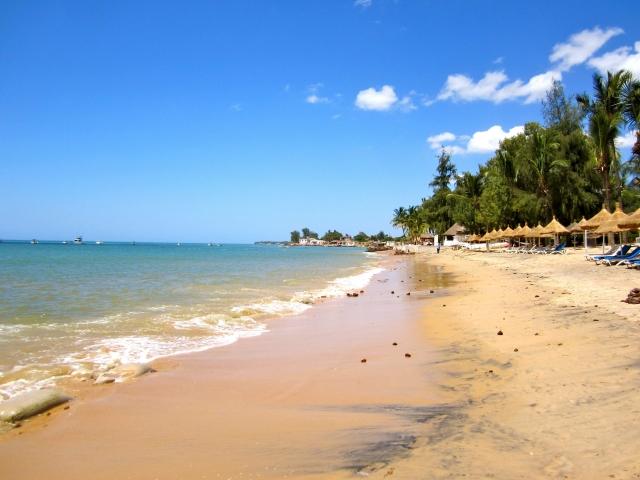 hamacas y playa