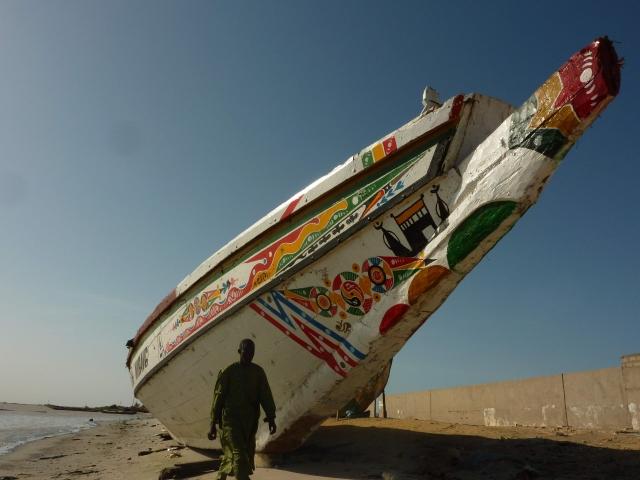 barca de gran tamaño