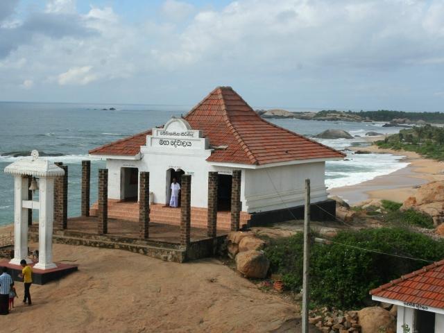 templo en la playa
