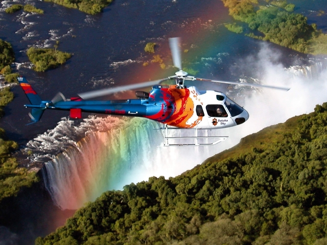 vistas en helicoptero